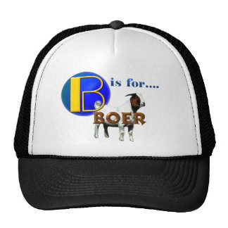 B is Fo rBOER - GOAT GIFTS Cap