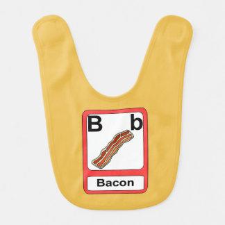 B is for Bacon Bib