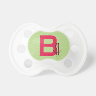 B is for Bacon happy jumping strip abc letter Dummy