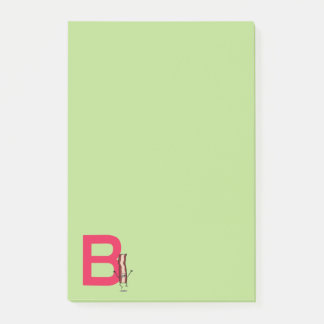 B is for Bacon happy jumping strip abc letter Post-it® Notes