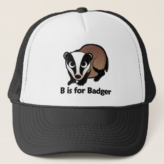 B is for Badger Trucker Hat