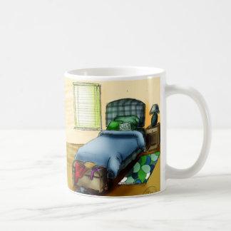 B is for Bedroom Basic White Mug