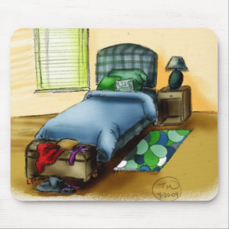 B is for Bedroom Mouse Pad