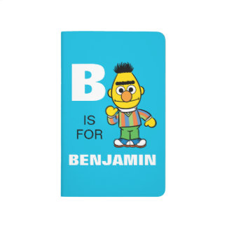 B is for Bert | Add Your Name Journal