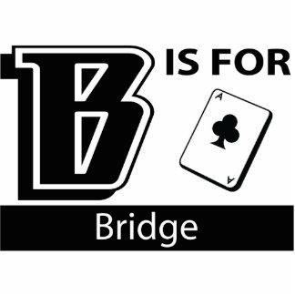 B Is For Bridge Photo Sculptures