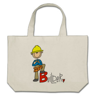 B is for Builder Tote Bags