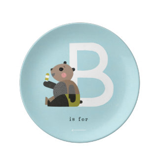 B is for... plate