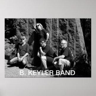 B.Keyler Band Poster 2017