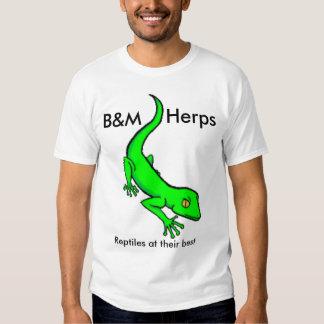 B&M Herps signature shirt