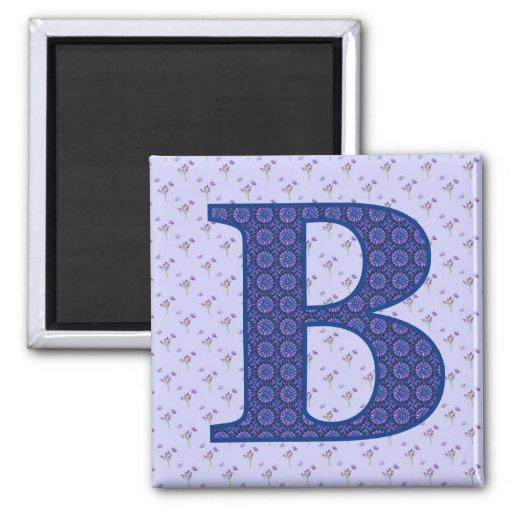 B FRIDGE MAGNETS