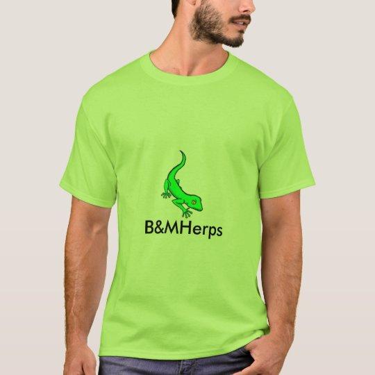 B&MHerps staff shirt