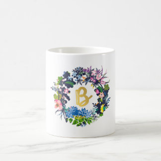 """B"" Monogram Mug"