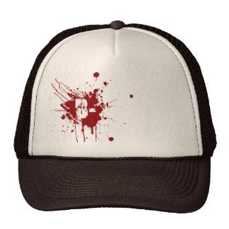 B Negative Blood Type Donation Vampire Zombie Cap