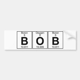 B-O-B (bob) - Full Bumper Stickers