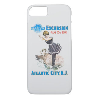 B+O Railroad Excursion 1900 iPhone 7 Case