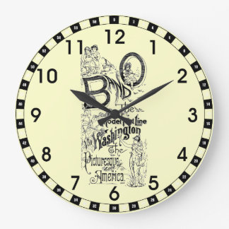 B&O Railroad-The Model Fast Line 1869 Wall Clock