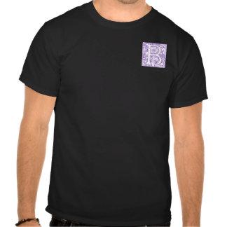 """B"" Ornate Monogram T-shirts"