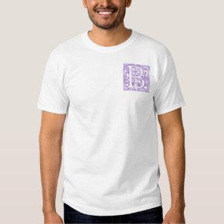 """""""B"""" Ornate Monogram Tshirts"""