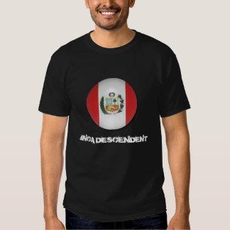 B_Peru, INCA DESCENDENT T-shirts
