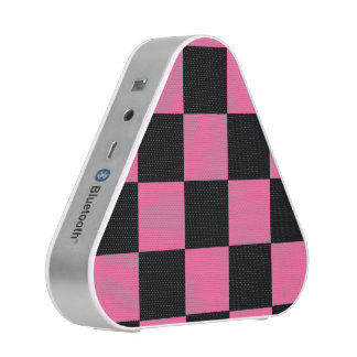 B+Pk Checker Bluetooth Silver Speakers