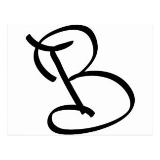 B POSTCARD