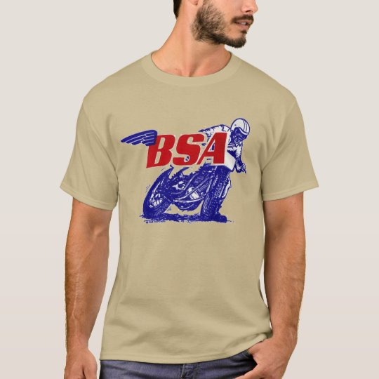 B.S.A Classic Vintage Motorbike T-Shirt