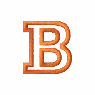 B Small Athletic Letter