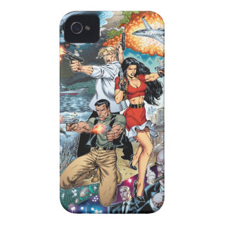 B@stard Stew Action Comic Art by Al Rio iPhone 4 Case-Mate Case
