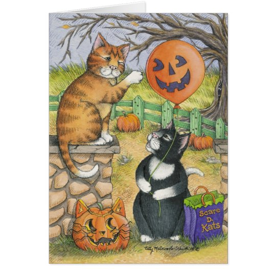 B & T #34 Halloween Note Card