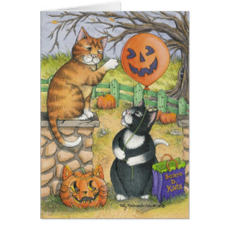 B & T #34 Halloween Note Note Card