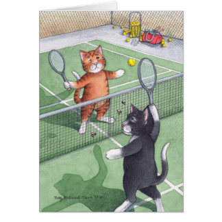 B & T #56 Tennis Birthday Note Card