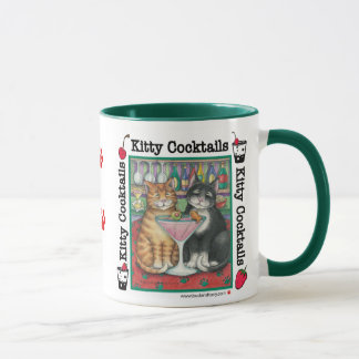 B & T #6 Kitty Cocktails Mug
