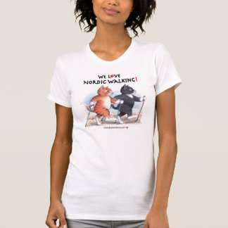 B & T We Love Nordic Walking T-Shirt