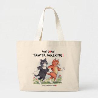 B & T We Love 'Paw'er Walking Bag