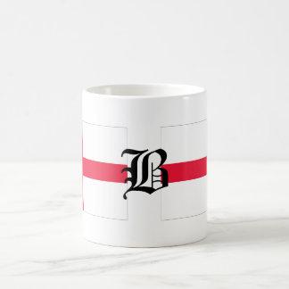 B-text English-Flag Coffee Mug