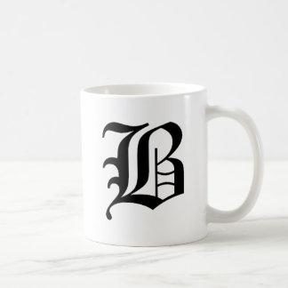 B-text Old English Coffee Mug