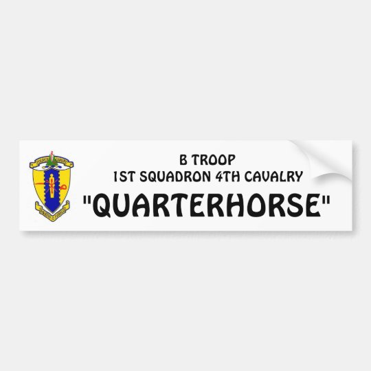 B-Troop Bumper sticker