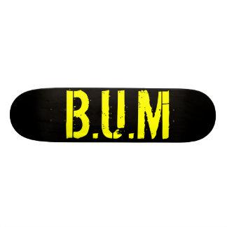 B U M Skate Deck