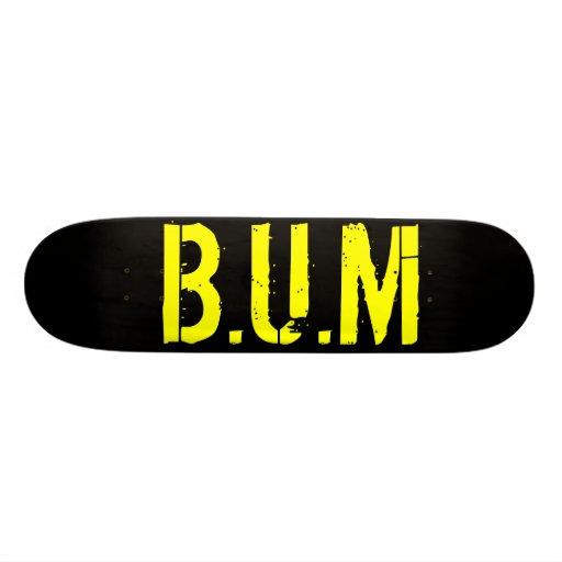 B.U.M Skate Deck