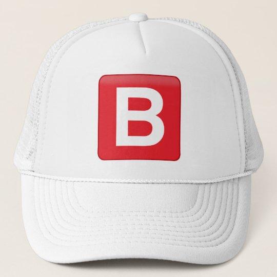 B ️utton Emoji Sun Protector Trucker Hat
