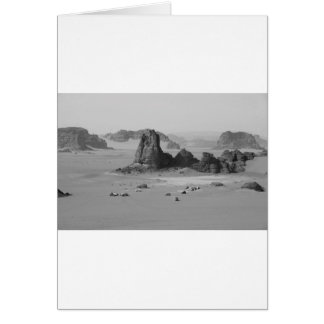 B&W Algeria Desert Card