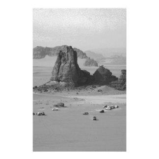 B&W Algeria Desert Stationery