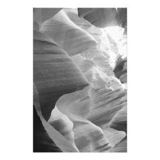 B&W Antelope Canyon 2 14 Cm X 21.5 Cm Flyer