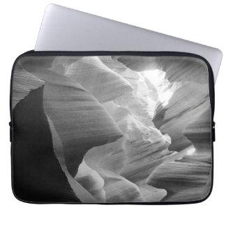 B&W Antelope Canyon 2 Laptop Sleeve