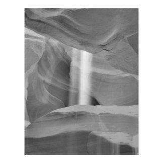 B&W Antelope Canyon 3 21.5 Cm X 28 Cm Flyer