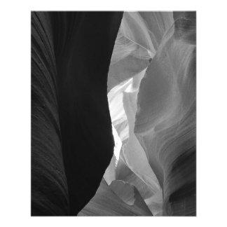 B&W Antelope Canyon 4 11.5 Cm X 14 Cm Flyer