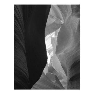 B&W Antelope Canyon 4 21.5 Cm X 28 Cm Flyer