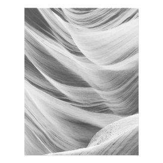B&W Antelope Canyon 5 21.5 Cm X 28 Cm Flyer