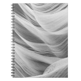 B&W Antelope Canyon 5 Notebooks