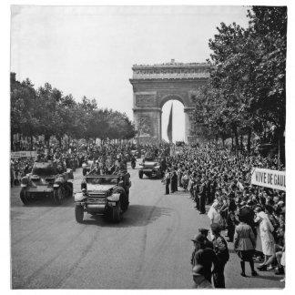 B&W Arc De Triomphe 2 Napkin